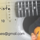 carte de visite musicien Verso 85x40mm