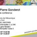Carte de Visite Université Montpellier 2-LMGC