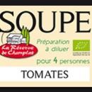 Etiquette Bocal Soupe à Plat