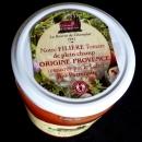 Medaillon Dépliant In Situ sur Couvercle bocal de coulis de tomates Champlat