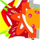 Création numériques sur mesures et impression sur toile 150 x 150 cm