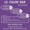 flyer A5 Salon de coiffure E. Gautier